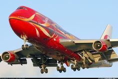 Malaysia Airlines 9M-MPD Boeing 747-4H6 aircraft picture: