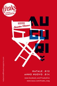 biglietto auguri freaks natale 2013 freaks christmas card 2013 freaks xmas 2013