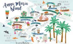 Anna Maria Florida Map.Map Of Anna Maria Island Zoom In And Out Anna Maria Island In