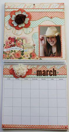 March Calendar Full-Length | by Kiwi Lane