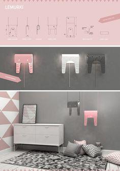 Seria lamp Lemurki projektu Patrycji Kryszczuk - PLN Design