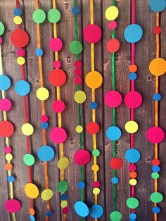 Simple Birthday Decorations, Paper Party Decorations, Diy Diwali Decorations, School Decorations, Carnival Themed Party, Carnival Birthday Parties, Unicorn Birthday Parties, Festival Diy, Desi Wedding Decor