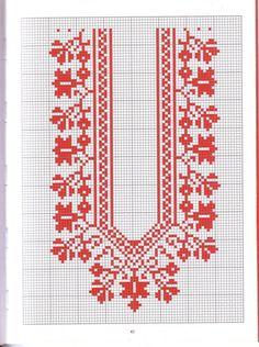 Embroidery Motifs, Embroidery Fashion, Ribbon Embroidery, Cross Stitch Embroidery, Embroidery Designs, Cross Stitch Gallery, Cross Stitch Designs, Cross Stitch Patterns, Tribal Print Pattern
