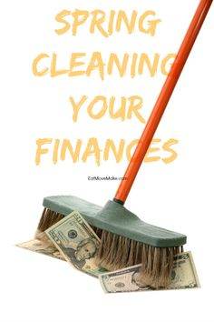 Spring cleaning finances is as important as spring cleaning your home. Here are 6 tips on how you can spring clean those finances!