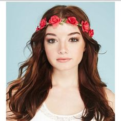 🎉HP🎉NWT red braided flower headwrap Brand new Accessories Hair Accessories