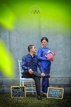 Blue Engagement Reception - www.thebridedept.com
