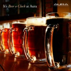 Get ready to party at Aura with a beer bucket of four Budweisers for INR 595 + taxes!