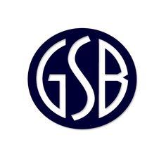 GSB. Logo design by McQuillen Creative Group. Troy McQuillen, designer.