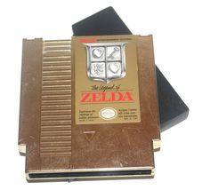 Vintage 1985 The Legend of Zelda, Gold, Nintendo Games, Vintage Toys,  – Antique Alchemy