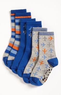 Nordstrom 'Red Eye' Socks (3-Pack) (Toddler & Little Boys) by nordstrom