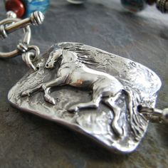 Artisan Horse Jewelry Freedom No. 2 Handmade Fine by SilverWishes, $205.00