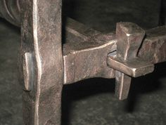 Table detail forged