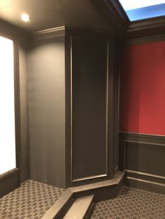 Home Theater Room Design, Home Cinema Room, At Home Movie Theater, Home Theater Rooms, Theatre, Home Cinemas, Game Room, Man Cave, Basement