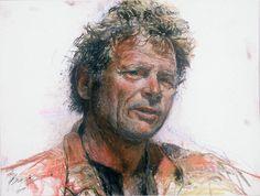 ... paul lindhard dry pastel ovr pen_ink over 22_30 inch 300 lb paper