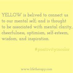 Wise & inspirational #YELLOW