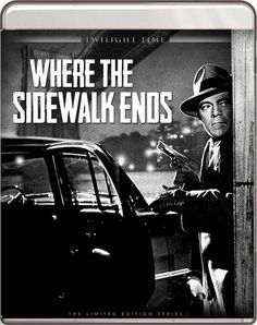 Where the Sidewalk Ends - Blu-Ray (Twilight Time Ltd. Region A) Release Date: February 16, 2016 (Screen Archives Entertainment U.S.)