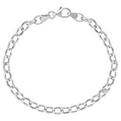 """$40 Rolo Bracelet, 7 1/2""""  available at #HelzbergDiamonds"""