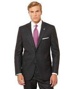 Fitzgerald Fit Tic 1818 Suit Charcoal
