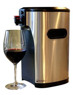 With the premium box #wine dispenser from Boxxle, the whole wine experience just got classier. #giftideas