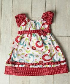 PDF pattern for this cute dress from etsy.
