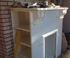 Ikea hack billy bokhylla till vitrinsk p - Dekokamin ikea ...