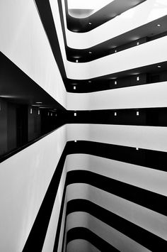 black & white stripes are just always great! #design #art