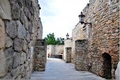 Huge city walls in Bardejov, Slovakia
