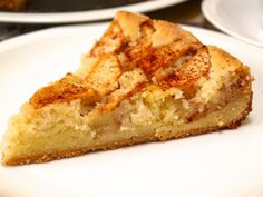A slice of this german apple cake and a cup of tea make for a perfect afternoon break.