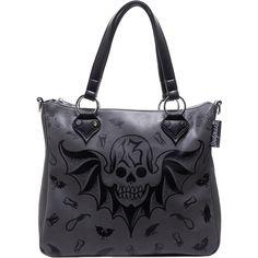 Inked Boutique -  Dusk Til Dawn Purse Skull 13  Punk Goth www.inkedboutique.com