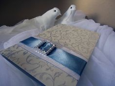 Convite de casamento em tons prata. Convite de by EstudioDePapel