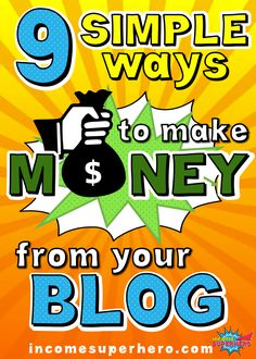 Making money from your blog isn't as hard as many people think | Learn the 9 easiest ways to get started | Click to find out how to monetize your blog today Business Tips, Online Business, How To Find Out, How To Make Money, Girl Boss, Blogging, Legends, How To Remove, Group