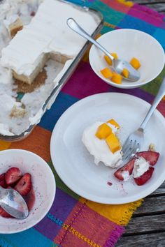Coconut Cinnamon Tres Leches Cake with Mexican Vanilla Whipped Cream