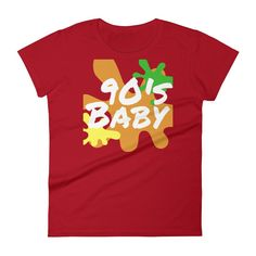 90's Baby Splash Women's Short Sleeve T-shirt
