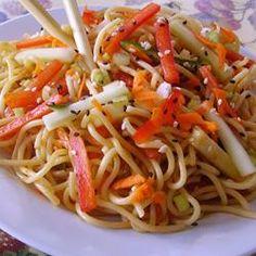 Healthy noodle salad - very tasty recipe!