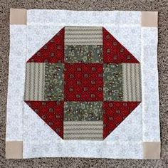 Stories from the Sewing Room: Civil War Quilt--Block 7