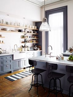 Get an intimate look at the stunning interiors from the Nancy Meyers film, The Intern