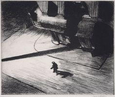 Edward Hopper - Night Shadows