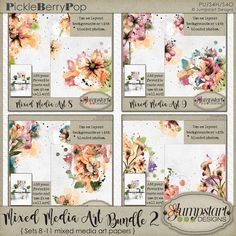 Mixed Media ART BUNDLE 2