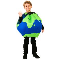 Child Earth Costume  sc 1 st  Pinterest & halloween | Halloween | Pinterest | Paper lanterns Clever and Planets