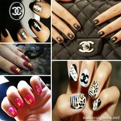 Chanel design Nails...x