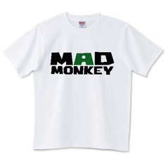 MADMONKEYGREEEN | デザインTシャツ通販 T-SHIRTS TRINITY(Tシャツトリニティ)
