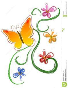 Flowers Clip Art | clip art, clip art free, clip art borders, clip ...