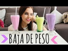 ¡HAZ SMOOTHIES DELICIOSOS Y SIN ENGORDAR! ♥Yuya - YouTube -yummy healthy smoothies-