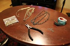 TFBP - The Fashion Book Project: DIY: Chain headpiece