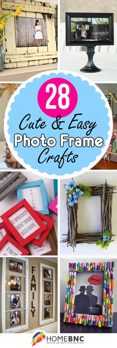 DIY Picture Frame Craft Ideas