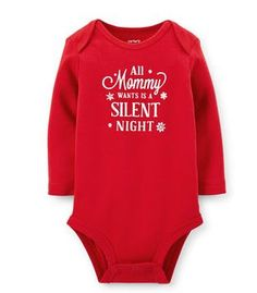 Ain't that the truth! Have this on your baby's Christmas Bodysuit  on sale for $3.99 from Carter's Canada #UglySweater #Swagbucks CandyCaneGang