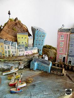 Tenby in Wales Driftwood Art Dreams and magical moments Going On Holiday, Driftwood Art, Wooden Boats, Woody, Tiny Houses, Wales, To Go, Paintings, In This Moment