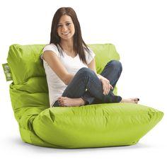 Amazon.com - Big Joe Roma Bean Bag Chair, Spicy Lime - Beanbag Chairs For Teens