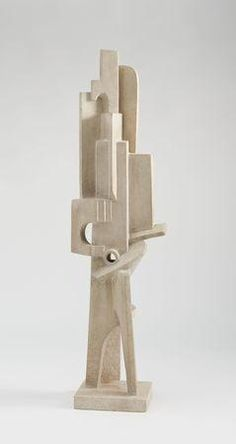 Lipchitz, Jacques - Man with a Guitar - Cubism - Sculpture - Abstract - Museum of Modern Art - New York, NY, USA