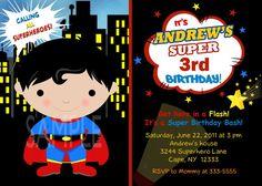 Custom Personalized Superhero Superfriends Perfect For Lil Batman